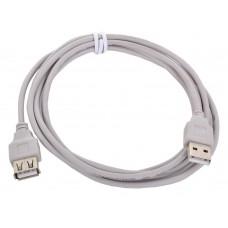 Кабель удлинитель USB 2.0 Type-A (m) - (f) 2 м