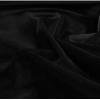Черный бархатный студийный фон 6х1,4 м