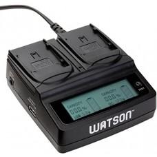 Зарядное устройство Watson Duo для аккумуляторов Canon BP-915 / 930 / 945 / 955
