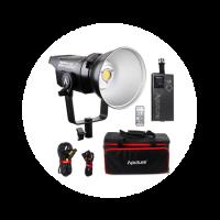 Комплект прибора светодиодного постоянного света Aputure Light Storm LS C120D II (5600K)